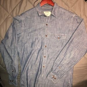 Brooks Brothers Men's Chambray Shirt S